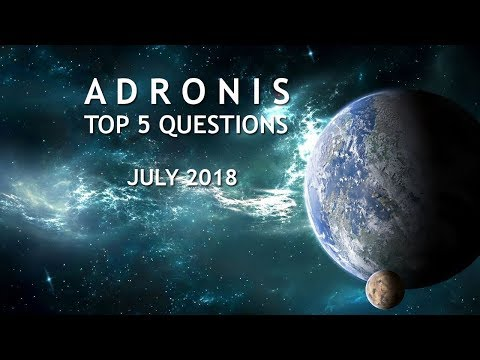 Adronis: Top 5 Questions  July 2018