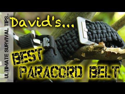 Ra Erstrap Paracord Survival Belt
