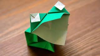 Origami - Grenouille Bavarde