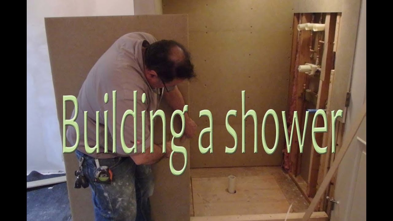 How To Build A Waterproof Shower Stall