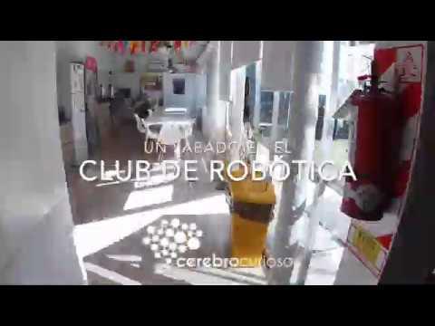 Un Sábado en El Club de Robótica de Cerebro Curioso
