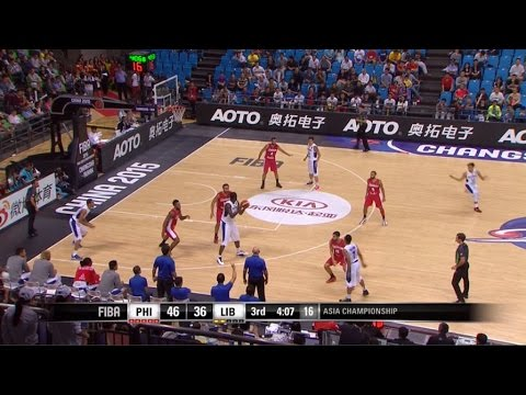 Philippines vs. Lebanon Highlights | 2015 FIBA ASIA CHAMPIONSHIP