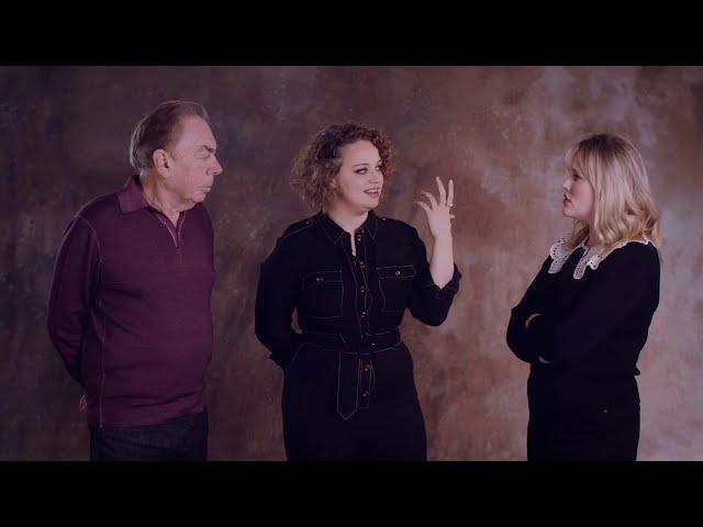 Andrew, Emerald & Carrie in Conversation | Andrew Lloyd Webber's Cinderella