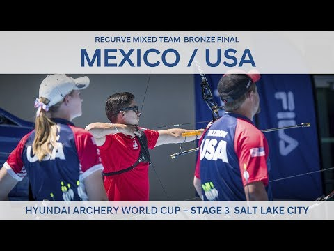 Mexico v USA – Recurve Mixed Team Bronze Final | Salt Lake City 2017
