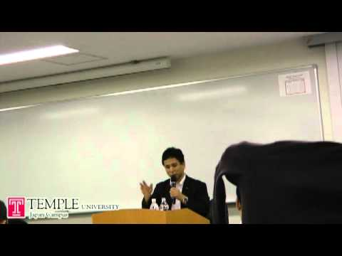 Public Lecture Video (6.18. 2012) : Outlook of Japan and China relations