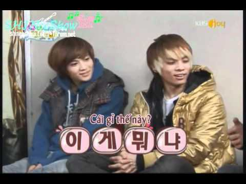 [Vietsub-S2] SHINee Hello baby ep 2 Part 1.avi
