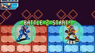 Megaman Battle Network Chrono X Online netbattle: vs deejay 2