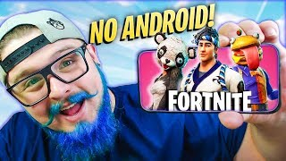 LAUNCH ON ANDROID AND NEW SKINS! (Fortnite Battle Royale)