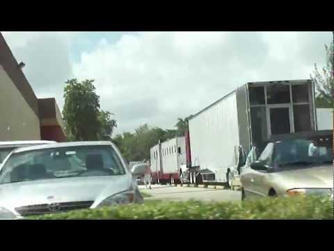 The Glades tv show filming around Tamarac, Florida! 5.2.12