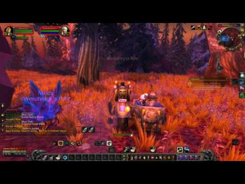 World Of Warcraft Quest Info: Galaen's Journal - The Fate of Vindicator Saruan