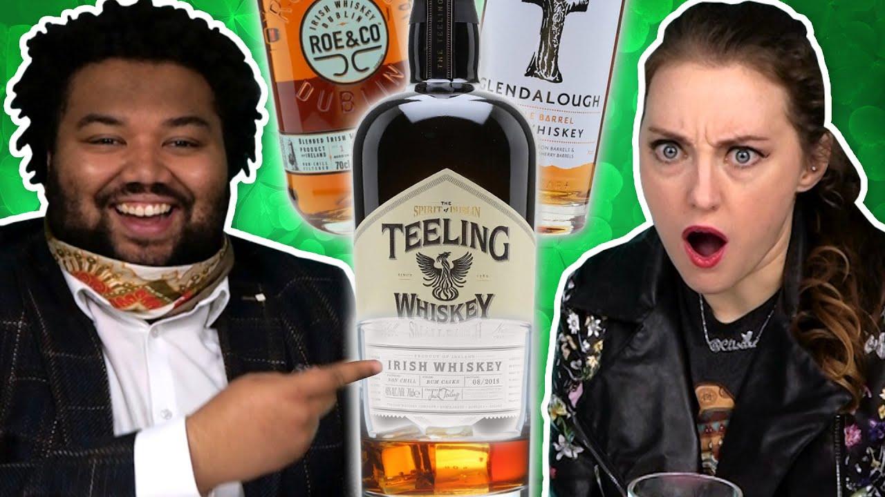 Irish People Try New Irish Whiskey
