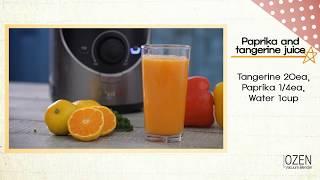 OZEN真空破壁調理機 現打新鮮果汁 #12 OZEN Vacuum Blender Mixed juices English