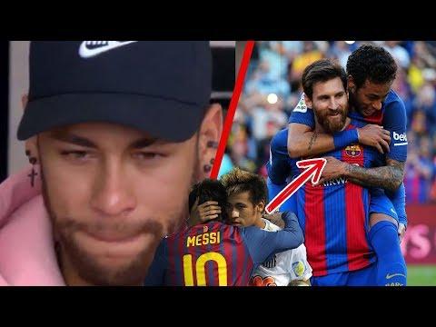 Con L�GRIMAS en los ojos, Neymar CONFIESA lo que Messi hizo por �l en el Bar�a