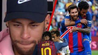 Con LÁGRIMAS en los ojos, Neymar CONFIESA lo que Messi hizo por él en el Barça