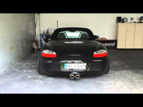 porsche boxster 986 s sound race exhaust system youtube. Black Bedroom Furniture Sets. Home Design Ideas