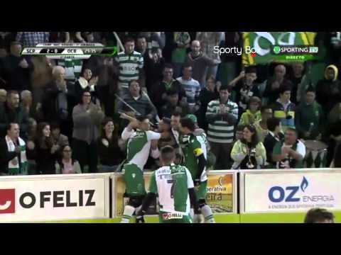 Hoquei Patins :: 07J :: Sporting - 4 x O. Barcelos - 2 de 2014/2015