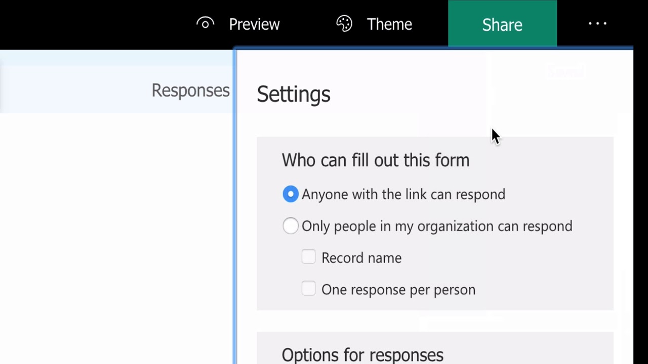 Microsoft Office 365 Forms ? How to Collect information from Clients and Employees! - YouTube