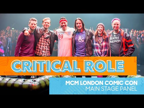 Critical Role Q&A | MCM London Comic Con