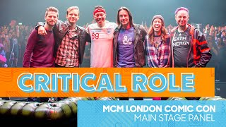 Critical Role Q&A | MCM London Comic Con