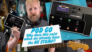 Line 6 POD GO (Should you buy the HX Stomp instead?) + Fun dives into expression control