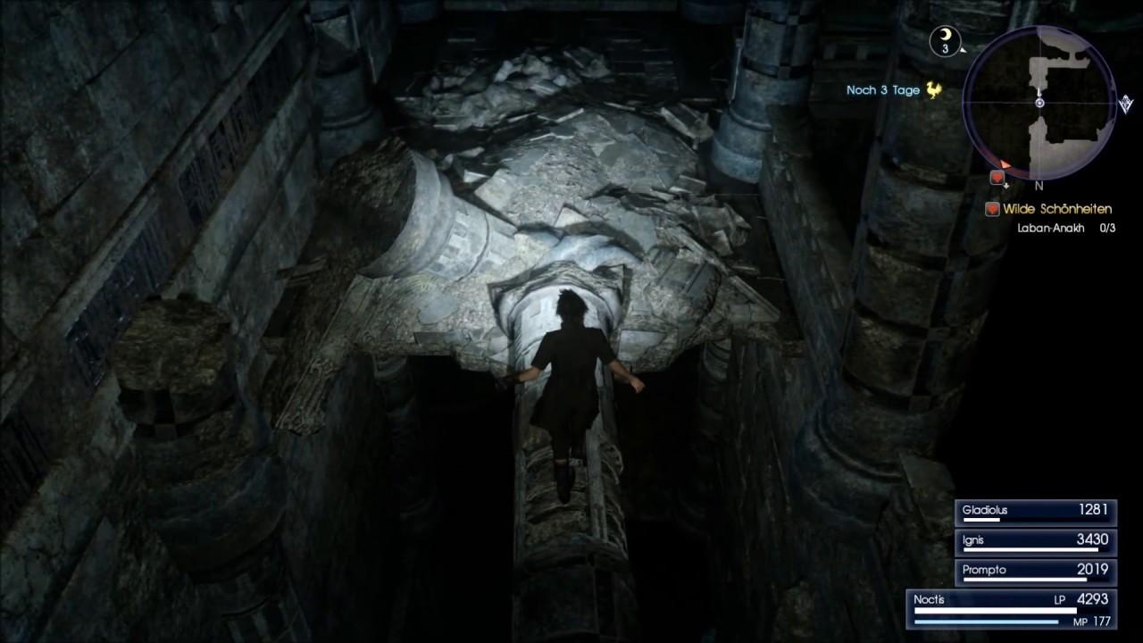 Final Fantasy 15 Königswaffen Karte.Final Fantasy 15 Xv Küstenmark Turm Komplett Durchgang