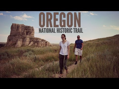 Oregon National Historic Trail - Five Key Locations (Vlog)