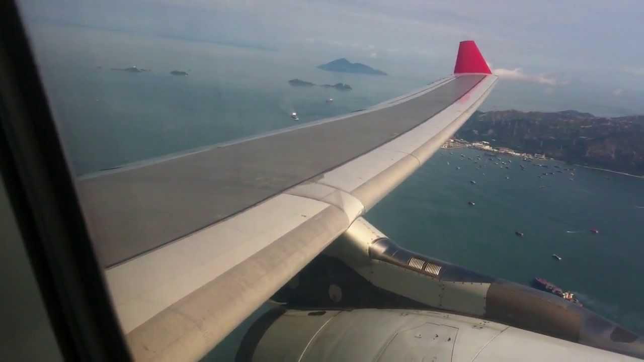 Dragonair KA900 HKG-PEK Takeoff - YouTube