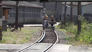てつどうの日in南福岡車両区2018 アルミカート乗車体験