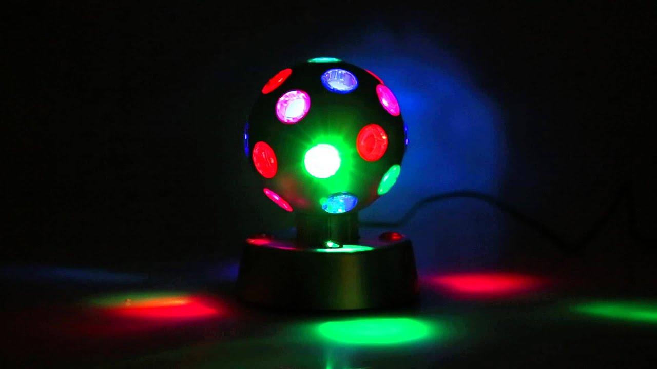 Oneconcept Disco Ball 4 S Led Lichteffekt