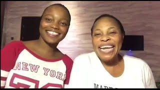 Like Mother like Daughter Tope Alabi and Her Cute Daughter Sings Together for this 1st time