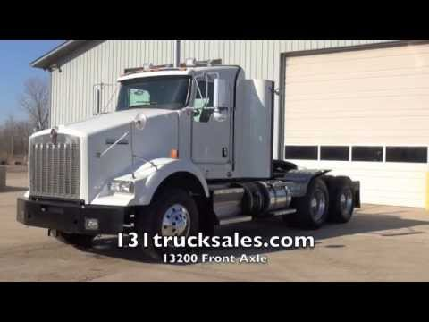 2012 Kenworth T800 Day Cab Heavy Specs - YouTube