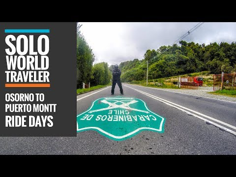 Ride Day 65: Osorno to Puerto Montt and Quillape, Chile