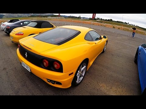 RACE CARS - Driver Cup Brazil - Cars racing at Aerovale Airport - GoPro