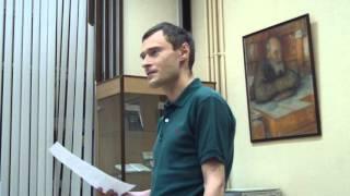 Александр Емельяненко в библиотеке Фёдорова