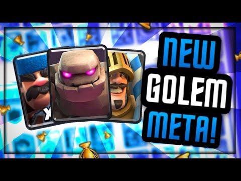 INSANE NEW DECK!! :: GOLEM HUNTER PRINCE BEATDOWN META?!