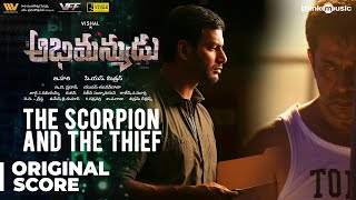 Abhimanyudu | The Scorpion and the Thief Background Score | Vishal, Arjun | Yuvan Shankar Raja