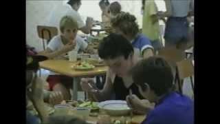 Wunsdorf-Вюнсдорф: школа № 89, столовая. 1992 год.