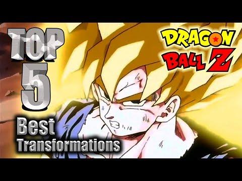 Top 5 Best DBZ Transformations