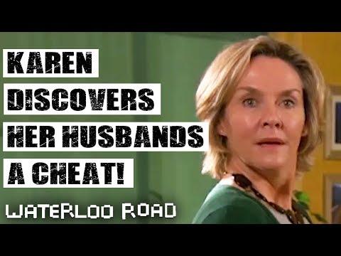 Karen Discovers Her Husband Is Cheating | Waterloo Road