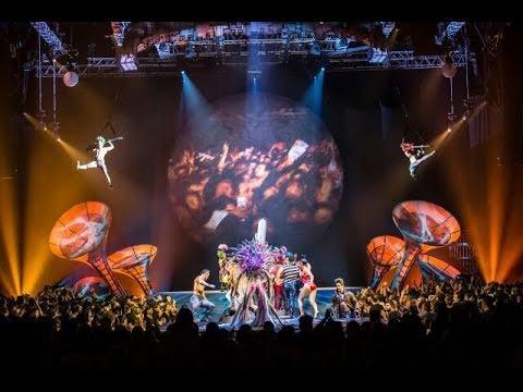 """Cirque Du Soleil """"Séptimo Día"""" - BACKSTAGE, ENSAYOS Y ENTREVISTAS en Bogotá"""