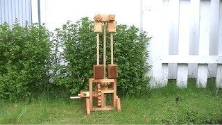 Creativeobsin Nr.18 : Wooden Centrifugal Governor