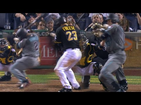 ARI@PIT: Tension builds between D-backs, Pirates