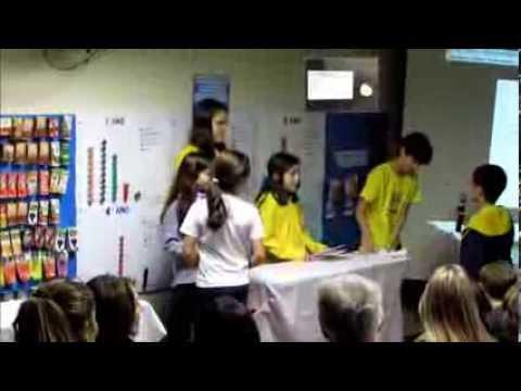 Simpósio 2013 5º ano Escola Trilhas