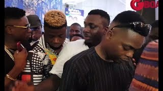 Reminisce, CDQ, Lil Kesh, Olamide & Others Storms Pasuma's All White 50th Birthday Party In Style