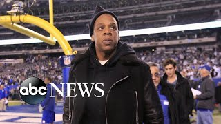 Jay-Z teams up with NFL on activism, entertainment l ABC News