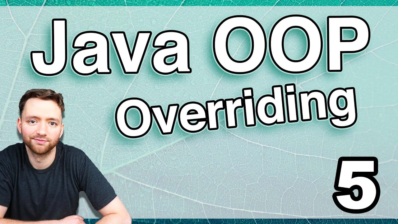 Method Overriding in Java (Java OOP 5)