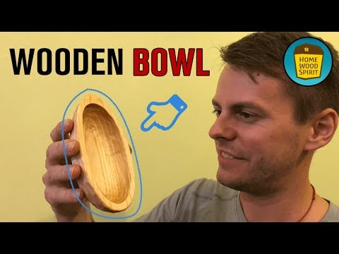 DIY - Wooden Bowl Carving Without Lathe