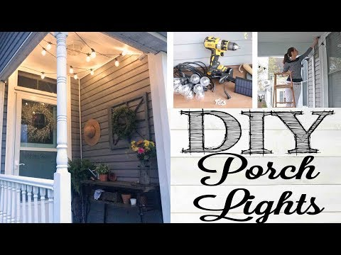 DIY Porch Lights