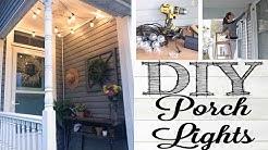 DIY Porch Lights