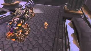 World of Warcraft EXPLOIT ! Druid Tree on Motorbike